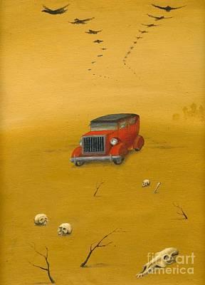 Mirage Poster by Alisa Bogodarova