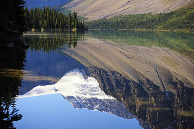 Mirror Lake Banff National Park Canada Poster