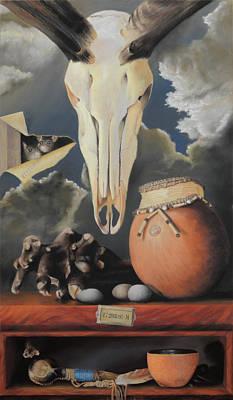 Curio - Pastel Poster by Ben Kotyuk