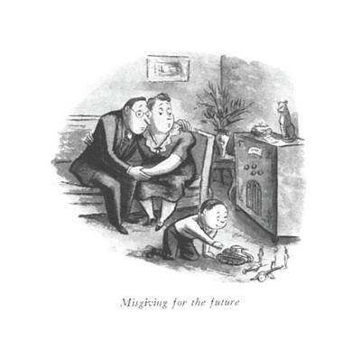 Misgiving For The Future Poster by William Steig