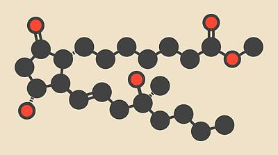 Misoprostol Molecule Poster