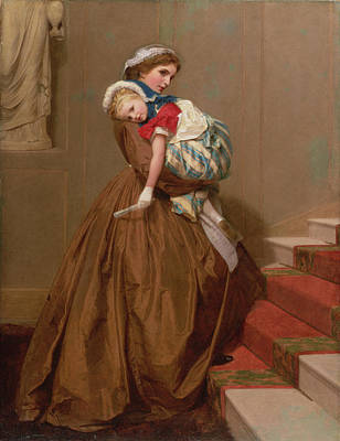 Miss Lilys Return From The Ball, 1866 Poster by James Hayllar