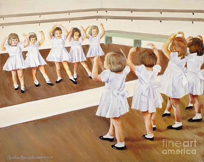 Miss Lum's Ballet Class Poster