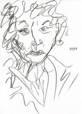 Miss Marple Sketch I Poster