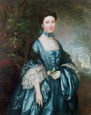 Miss Theodosia Magill, Countess Clanwilliam D. 1817, 1765 Poster by Thomas Gainsborough