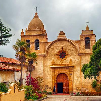 Mission San Carlos Borromeo De Carmelo Poster by Dan McManus