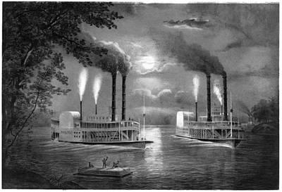 Mississippi River Poster
