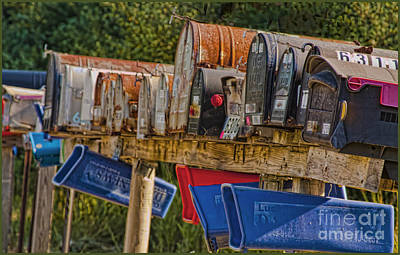 Mister Postman Poster by Timothy J Berndt