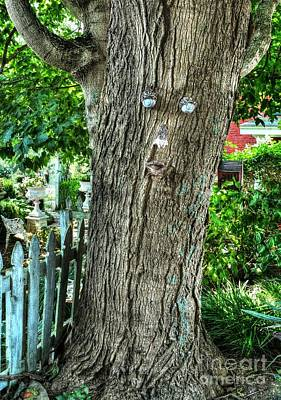 Mister Tree Poster by Mel Steinhauer