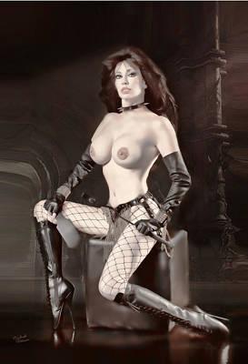 Mistress Robbin Poster by Michael Petersen