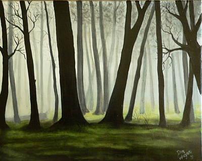 Misty Forrest Poster