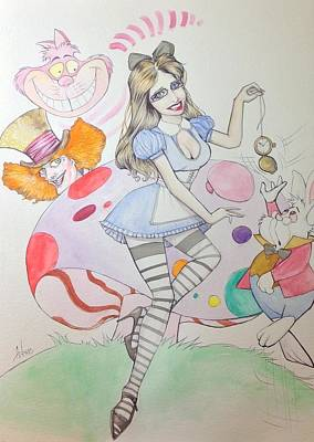 Misty Kay In Wonderland Poster