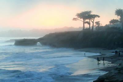Misty Santa Cruz Poster