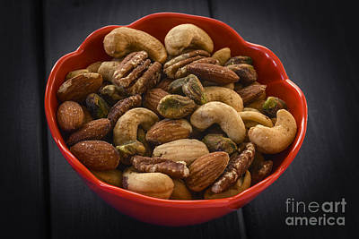 Mixed Nuts Still Life Poster by Vishwanath Bhat