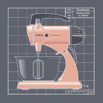 Mixmaster - Pink Poster