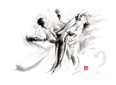 Mma Martial Arts Poster by Mariusz Szmerdt