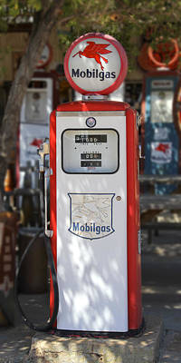 Mobilgas - Tokheim Gas Pump Poster by Mike McGlothlen