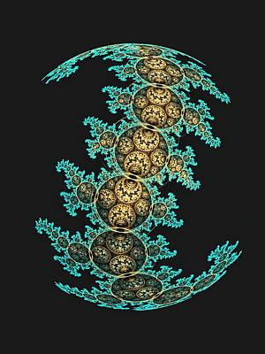 Mobius Curve II Poster by Lea Wiggins