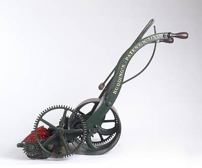 Model Of Edwin Budding's Lawn Mower Poster
