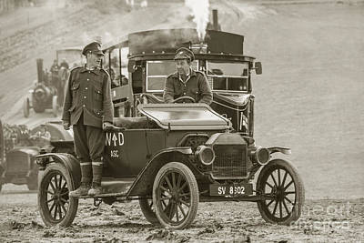 Model T Of War  Poster by Rob Hawkins
