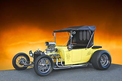Model T Roadster Pick Up I Poster by Dave Koontz