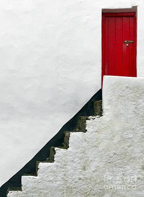 Modern Abstract Door Poster