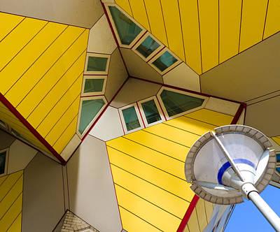 modern architecture in Rotterdam Poster