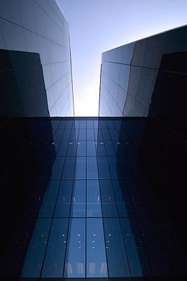 Modern Building Vertical Poster