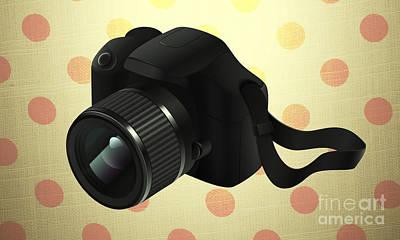 Modern Camera Frame Poster by Art World