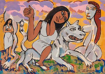 Modern Durga Poster