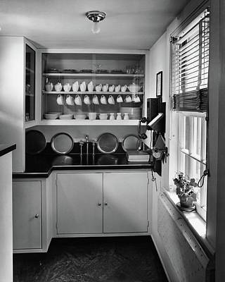 Modern Pantry At Suarez House Poster by Andr? Kert?sz