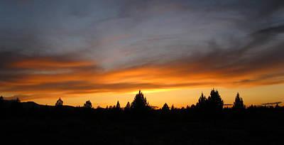 Modoc Sunset Poster