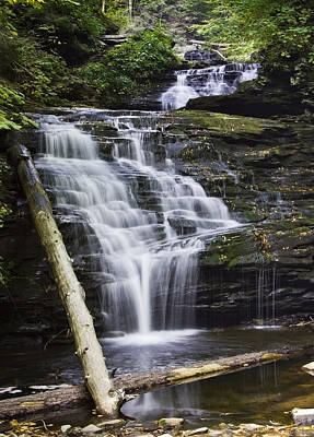 Mohican Falls Poster