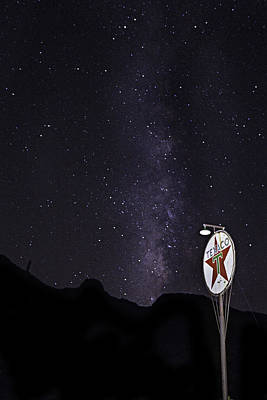 Poster featuring the photograph Mojave Milky Way 3 by James Sage