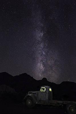 Mojave Milky Way Poster