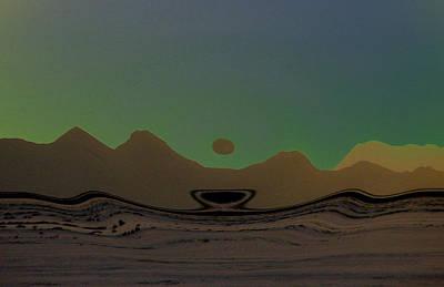 Mojave Morn Poster by Dennis Buckman
