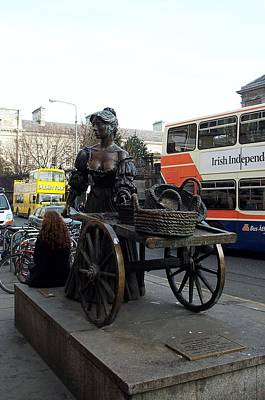 Poster featuring the photograph Molly Malone by Barbara McDevitt