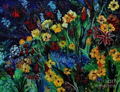 Moms Garden II Poster by Julie Brugh Riffey