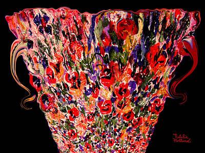 Mom's Venetian Glass Vase 1 Poster
