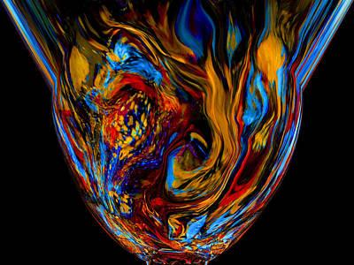 Mom's Venetian Glass Vase 7 Poster