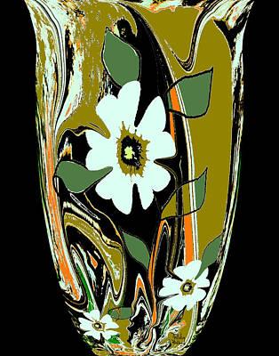 Mom's Venetian Glass Vase 8 Poster