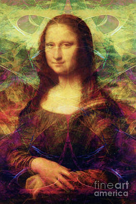 Mona 20140128 Poster by Wingsdomain Art and Photography