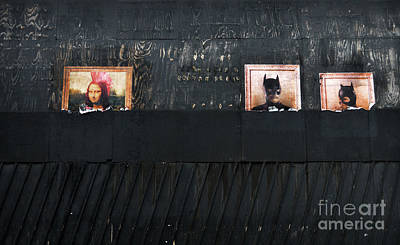 Mona Lisa And Others On The Street Poster by RicardMN Photography