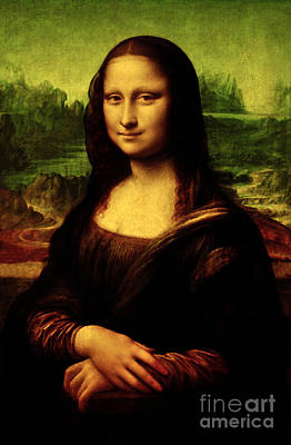 Poster featuring the painting Mona Lisa by Da Vinci