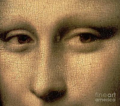 Mona Lisa    Detail Poster