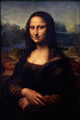 Poster featuring the painting Mona Lisa II by Karon Melillo DeVega