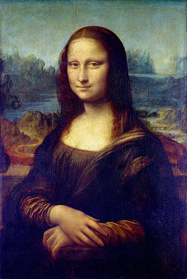 Poster featuring the painting Mona Lisa by Karon Melillo DeVega