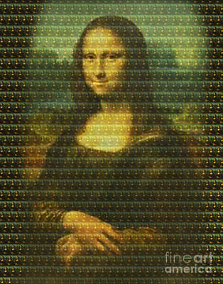 Mona Mosaic Poster