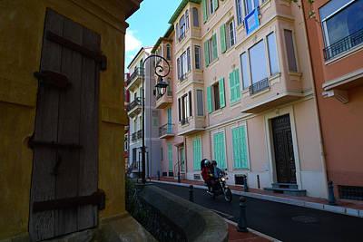 Monaco Alley Poster