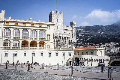 Monaco Palace Poster